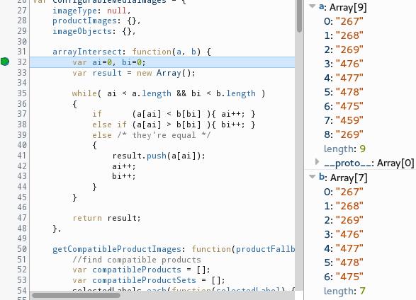 Configurable Swatches Code