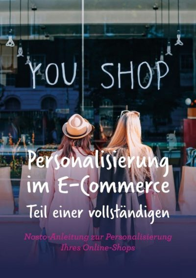 """Neues E-Book: """"Personalisierung im E-Commerce"""" von Nosto"""