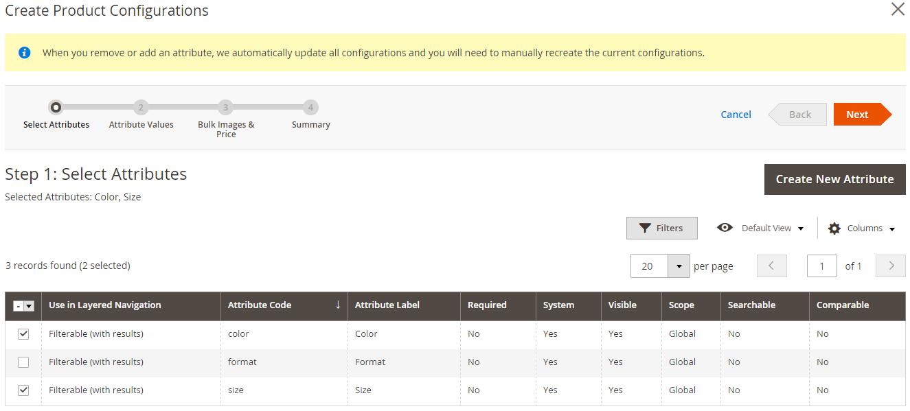 Magento 2 Produktkonfiguration 1