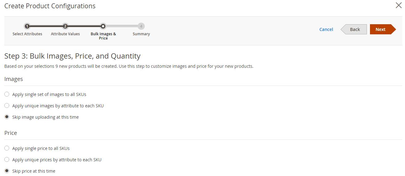 Magento 2 Produktkonfiguration 3