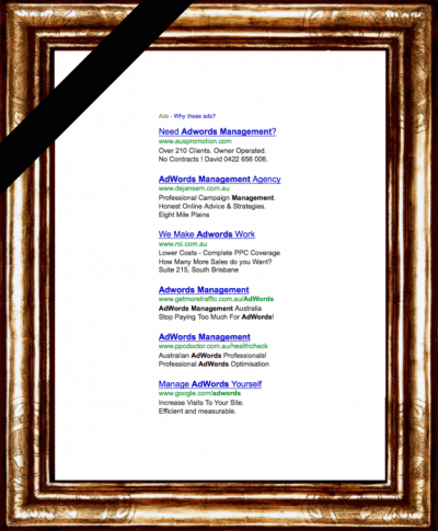 Google zeigt keine AdWords Anzeigen mehr auf der rechten Seite der Google Suche