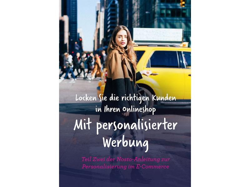 Nosto E-Book zur Personalisierung Teil 2