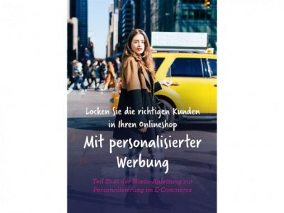 """Teil 2 der E-Book-Reihe """"Personalisierung im E-Commerce"""" von Nosto"""