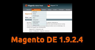 Aktuelles Release: Magento DE 1.9.2.4