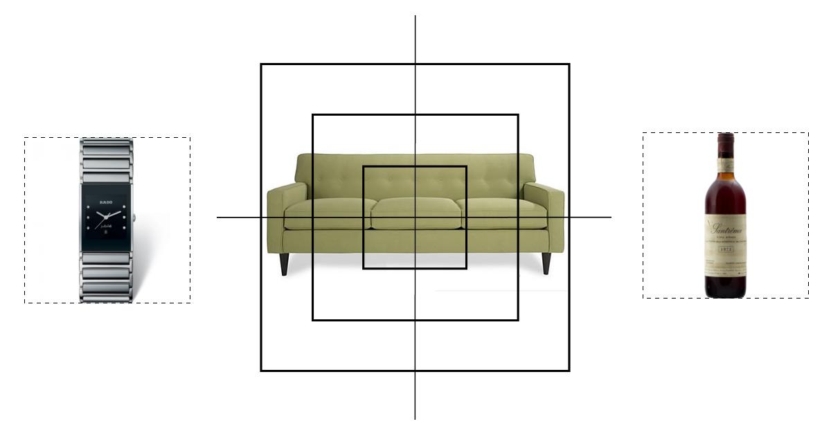 Quadratische Produktbilder