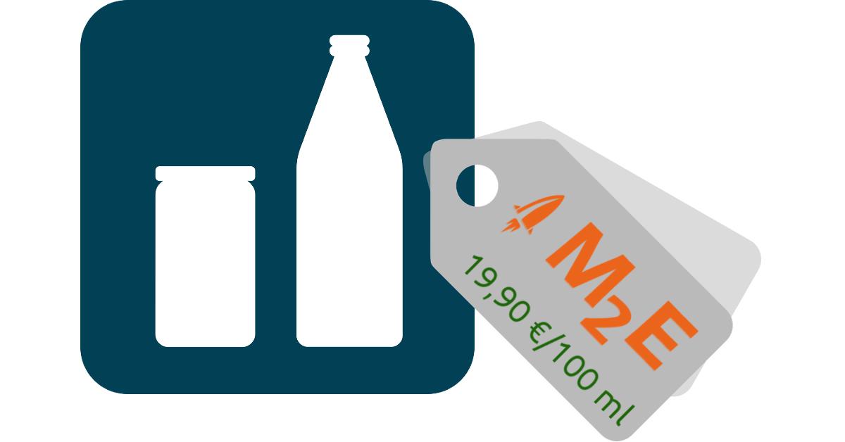 M2E Pro mit Grundpreisen