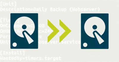 How-to: Backups unter Ubuntu 16.04 mit Attic und systemd