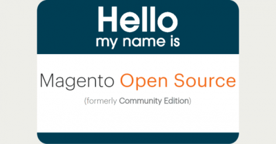 Magento Community Edition heißt jetzt Magento Open Source