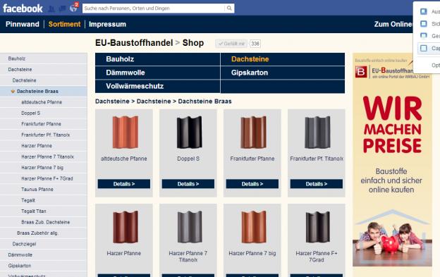 EU-Baustoffhandel