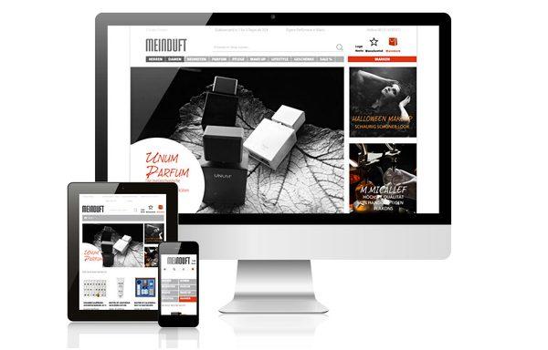 Responsive Shopdesign Meinduft