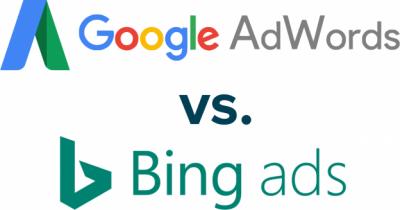 Google AdWords vs. Bing Ads