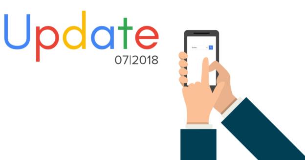Google Update in der Bildersuche 07/2018