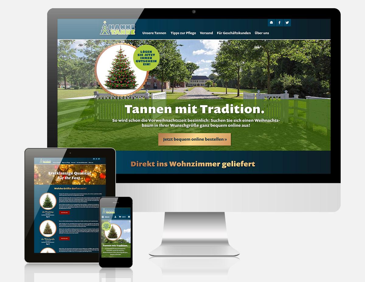 Shopware Onlineshop Hanne Tanne