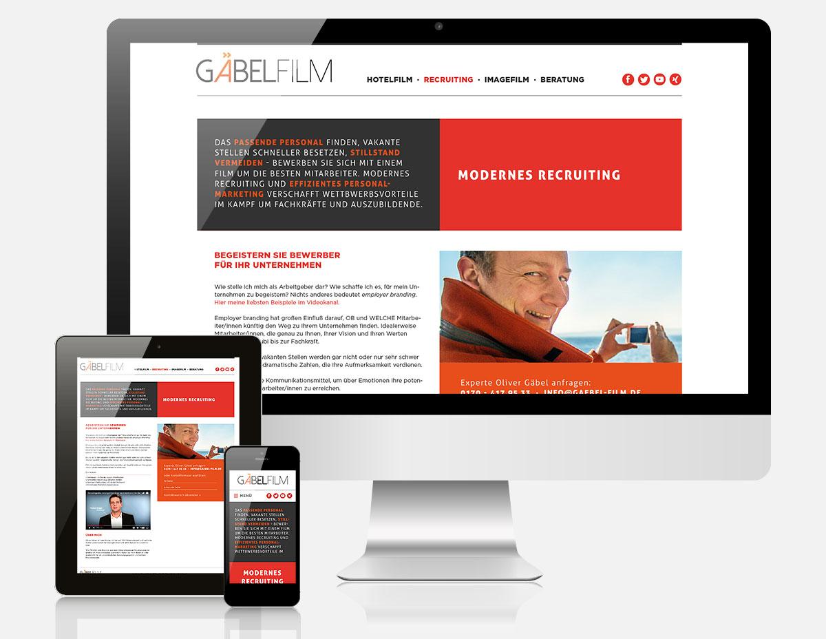Website Gäbel Film