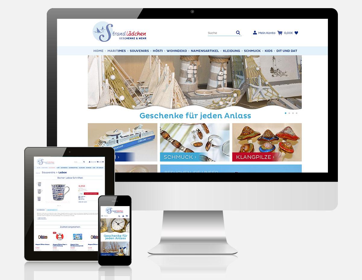 Shopware Onlineshop Strandlädchen Laboe