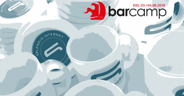 BarCamp Kiel 2018: Wir waren als Sponsor dabei