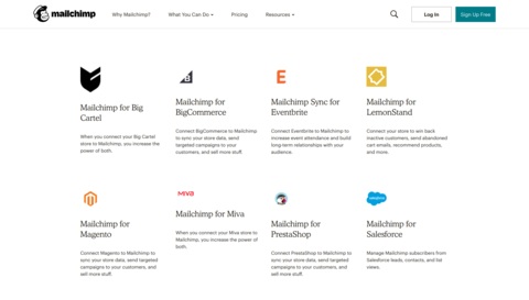 Newsletter-Marketing-Tools: MailChimp