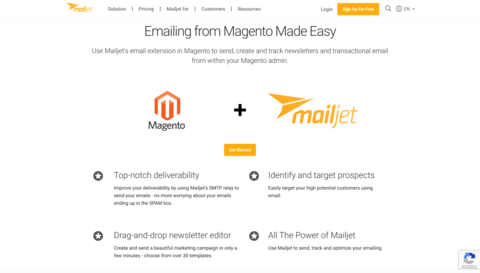 Newsletter-Marketing-Tools: Mailjet