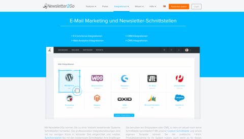 Newsletter-Marketing-Tools: Newsletter2Go