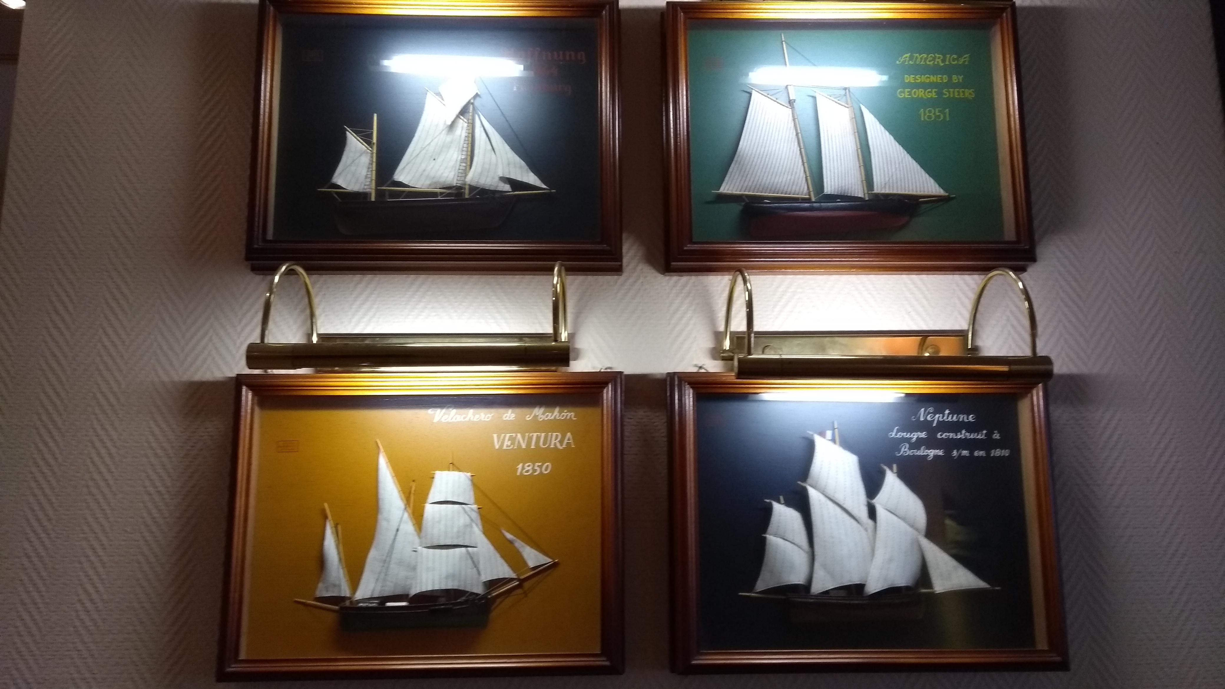 Maritime Reminiszenzen für die Kieler Seele im Hotel