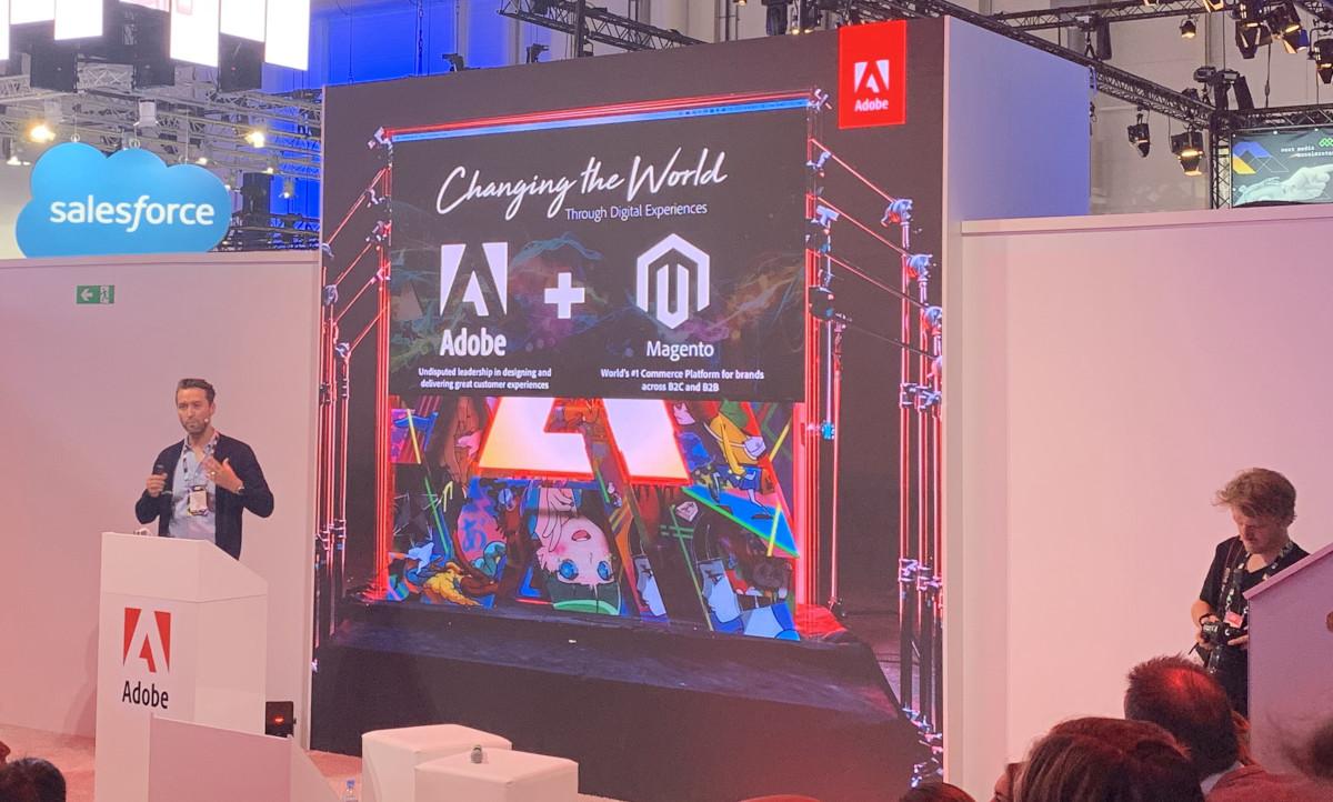 Magento Masterclass Experience-driven Commerce. Das Erlebnis macht Umsatz beim OMR Festival 2019