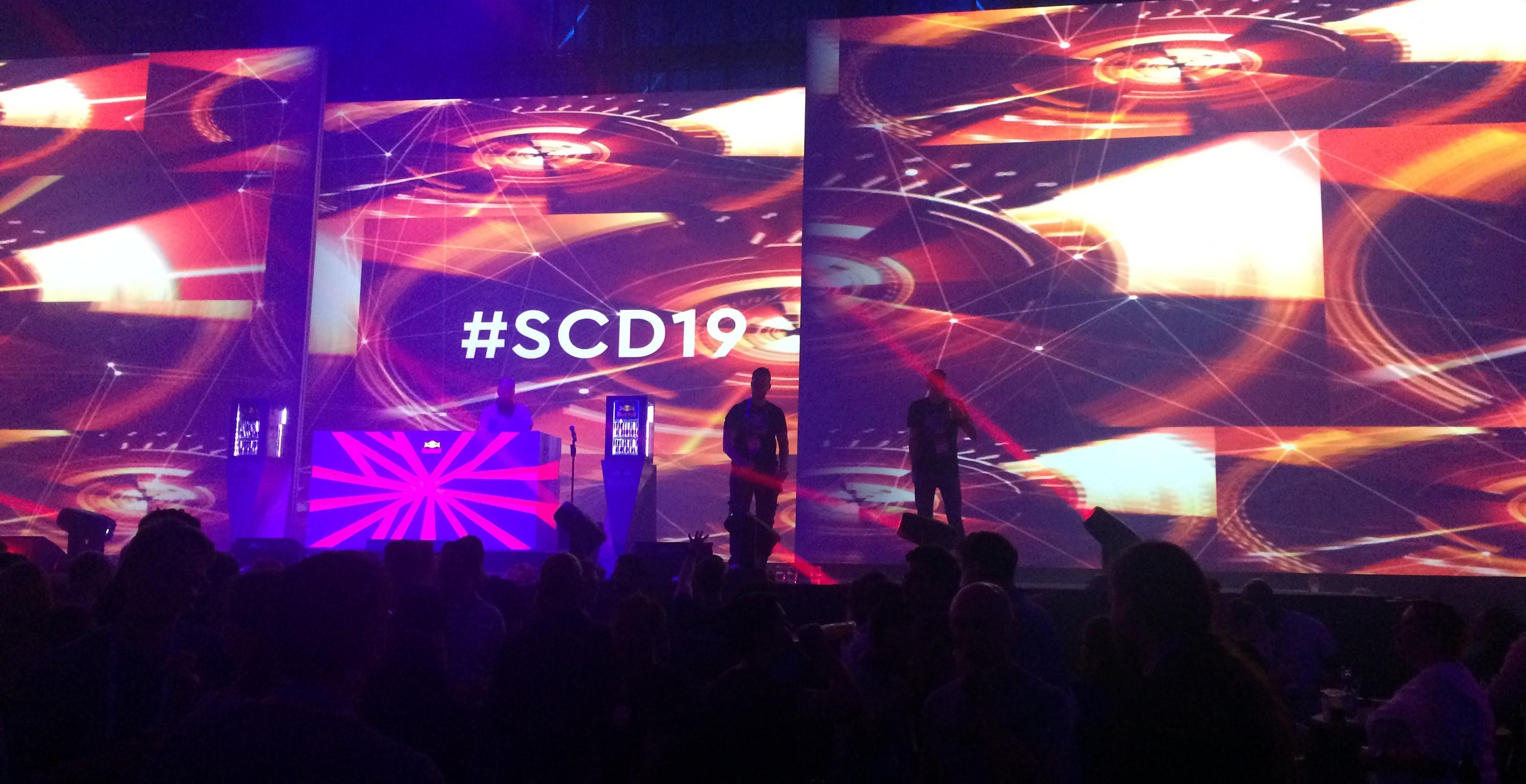 Die Show beim SCD19 war einmal mehr exzellent.