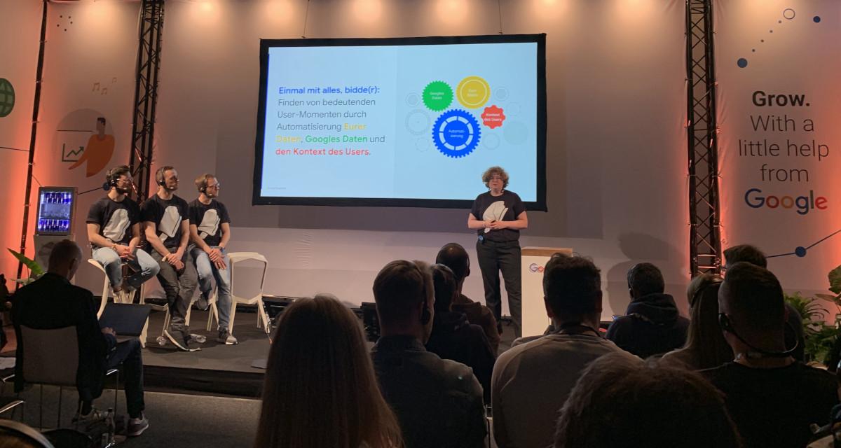 Die Google Masterclass Smart Bidding, noch smarter! beim OMR Festival 2019