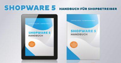 Shopware 5 Handbuch jetzt als Paperback und E-Book im Buchhandel