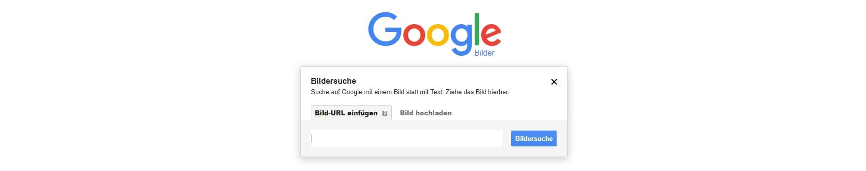 Bildersuche bei Google