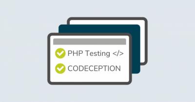 Akzeptanztests für Onlineshops mit Codeception