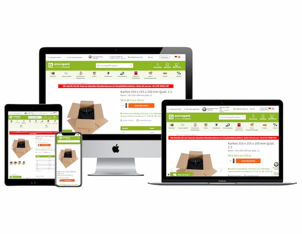 Onlineshop Enviropack