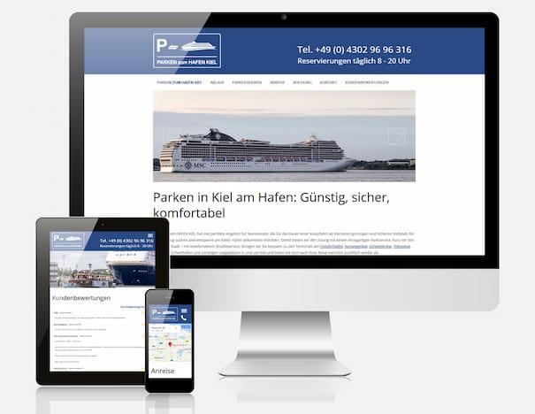 Buchungsplattform Parken Hafen Kiel