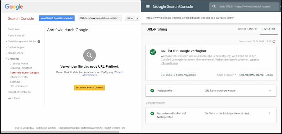 SEO Entwicklungen 2019: Chrome 41 im Crawling/Rendering