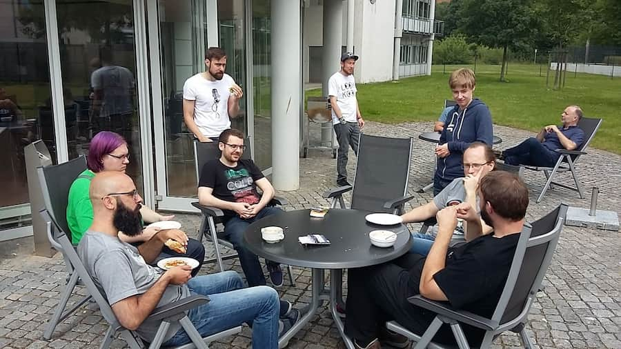 Magento 2 Hackathon Kiel 2017 Mittagspause